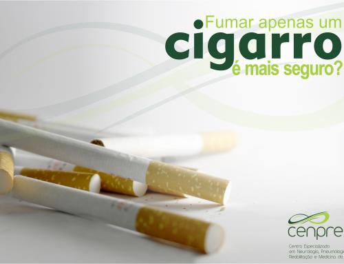 Fumar apenas um cigarro é mais seguro?